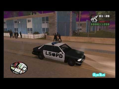 GTA San Andreas DYOM: [MaryzTv] GTA Ganton City (END) (720p)