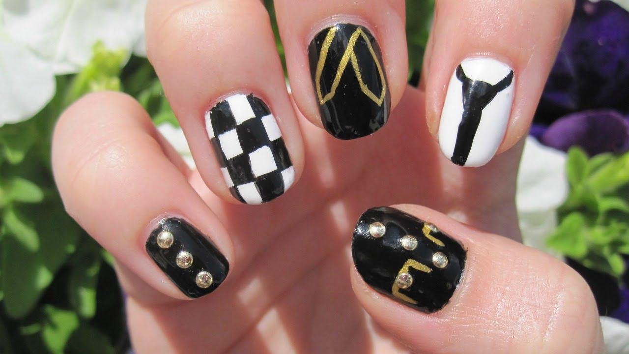 kpop bts - dope nail