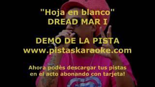 "Dread Mar I ""Hoja en blanco"" DEMO PISTA KARAOKE"