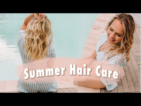 Summer Hair Care Tips for the Beach and Pool - Kayley Melissa thumbnail