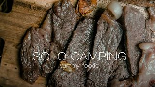 【キャンプ】冬のソロキャンプで温かい飯!camping thumbnail
