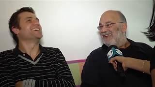Encuentro de maestros en el Sodre: Luciano Supervielle y Jaques Morelenbaum
