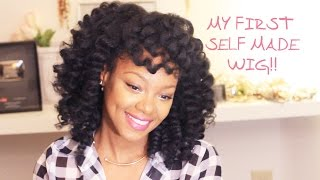 More Crochet Braid Options & My First Self Made Wig! | BorderHammer