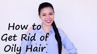 How To Get Rid of Oily Hair- Natural Solution- Products and Hairstyles for Oily Scalp- Beautyklove