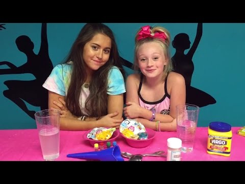Princess Ella Shows you How To Make A DIY OOBLECK Stress Ball. W Shopkins & Tsum Tsum blind bags.