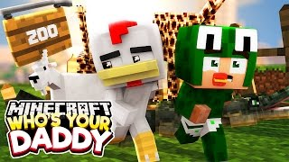 Minecraft Who's Your Daddy?  - BREAKING INTO THE ZOO! w/ ConkeyDoodleDo
