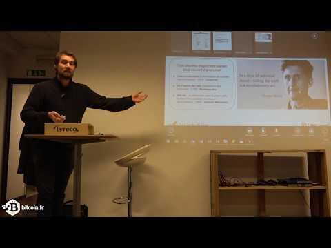 Bitcoin, vie privée et anonymat des transactions - Benoit Huguet