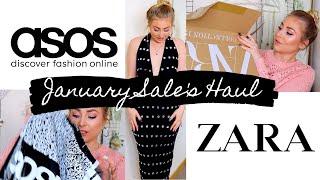 ASOS & ZARA Haul | January Sales 2020!
