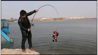 Китайцы тестируют удочку )))