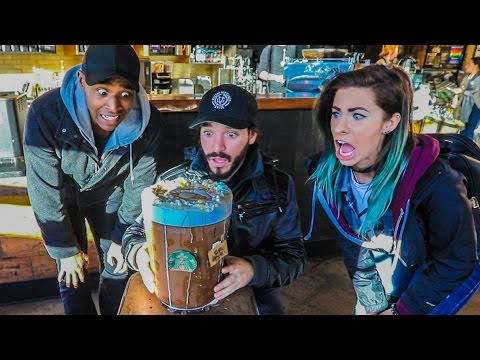 WORLD'S MOST EXPENSIVE COFFEE!!! w/ Andie Case