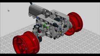 LEGO Technic Rock Crawler Chassis Building Instructions