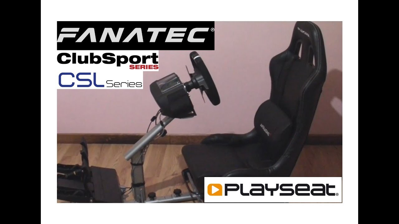 playseat & fanatec - unboxing e montaggio ClubSport Wheel Base V2 5 by eXa  race