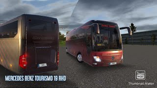 Bus simulator ultimate, Merce_Benz tourismo 19 SHD Android game play |Bus game |Turkey  route |ATG|