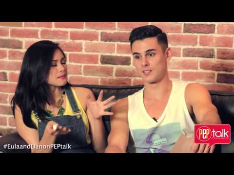 Eula Caballero and Dan Marsh reveal how well they know each in PEP Talk challenge