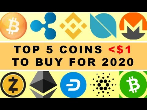 TOP 5 COINS Less Than $1 To BUY For 2020!