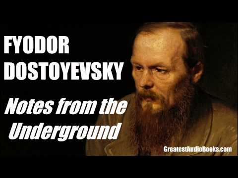NOTES FROM THE UNDERGROUND by Fyodor Dostoyevsky - FULL Audi