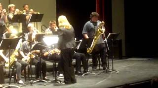 Arden Middle School Band - Blue Bassa - Command Performance Santa Cruz Jazz 2013