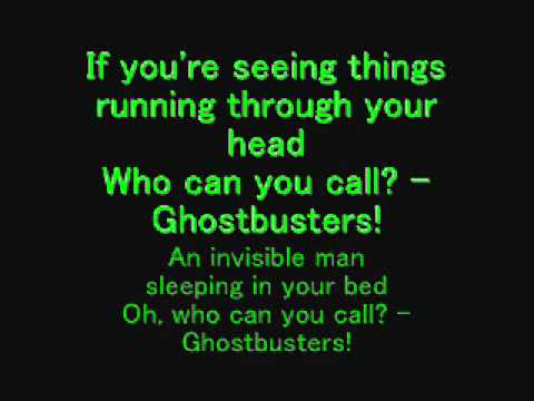 Ghostbusters song and lyrics song by ray parker jr  YouTube
