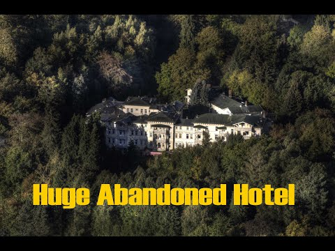 Overlook Hotel Abandoned And Closed Down Ghostly