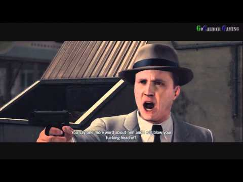 "L.A. NOIRE NEWSPAPER cutscene ""CRUSADE AGAINST CORRUPTION"" case 21"