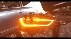 Led Blinker Orange