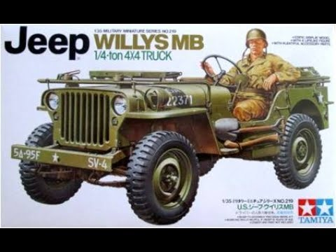 How To Build The Willys Mb Jeep 1 35 Scale Tamiya Model Kit 35219 Review Youtube