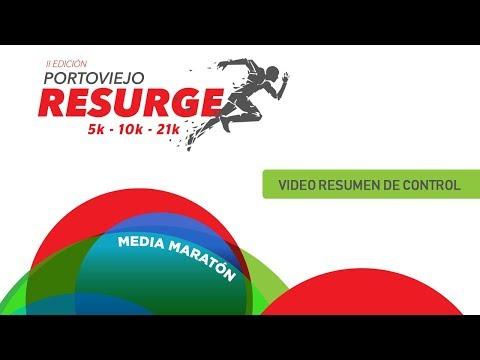 Media Maraton Portoviejo Resurge 2da Edicion - Video de Control