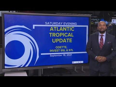 Download Tropics update: Tracking Odette, Invests 95L and 97L