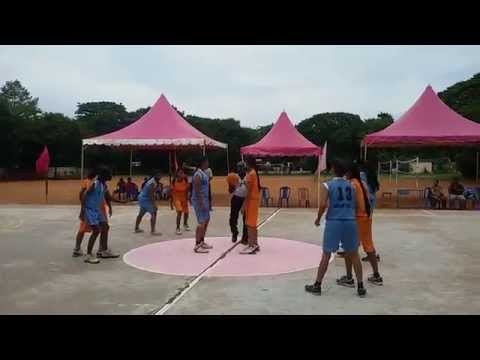 KV ASHOK NAGAR, REGIONAL LEVEL BASKET BALL MATCH 2015