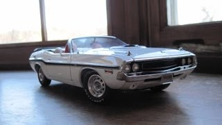 Review of 1/18 Dodge Challenger R/T by Greenlight
