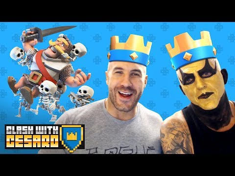 GOLDUST picks out a truly BIZZARE deck for CESARO! — Clash With Cesaro #9