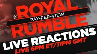 WWE Royal Rumble 2020 - Live Reactions