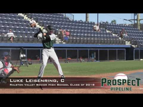 Luke Leisenring Prospect Video, C, Ralston Valley Senior High School Class of 2018