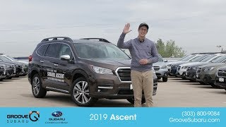 The all New 2019 Subaru Ascent in-depth walk-around and demonstration