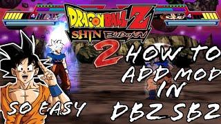 How To Add Mod In DBZ Shin Budokai 2 ( Full Tutorial ) & So Easy