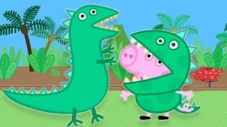 Peppa Pig English Full Episodes Mr Dinosaur is Lost | 30 MINUTES | Cartoons for Children