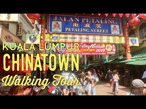 Petaling Street Kuala Lumpur Chinatown Walking Tour Malaysia