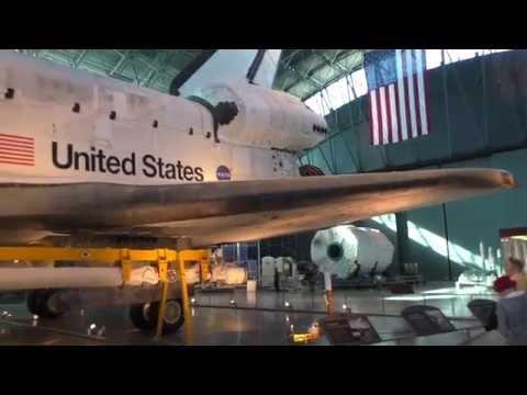 The Space Shuttle Discovery - Steven F.Udvar-Hazy Center  - Chantilly, Virginia