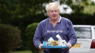 Boris offers reporters tea as he stays quiet over burka row