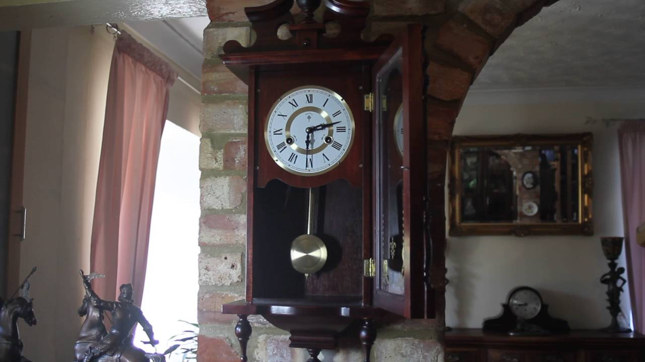 Vintage polaris 31 day wall clock youtube vintage polaris 31 day wall clock amipublicfo Image collections