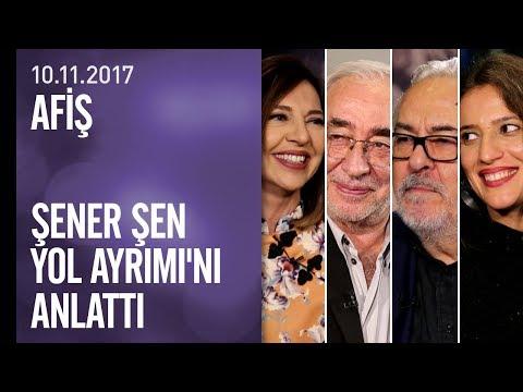 Şener Şen yeni filmi Yol Ayrımı'nı Afiş'te anlattı