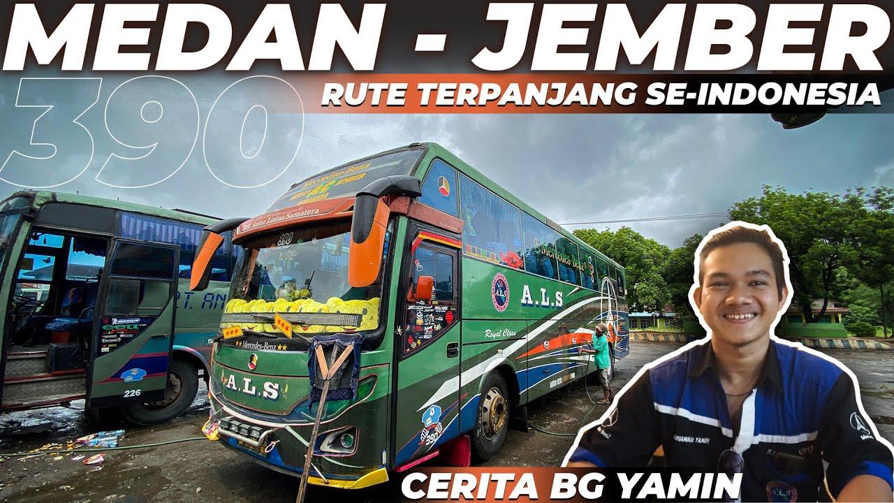 CERITA PERJUANGAN SEORANG CREW | Trip Trayek TERJAUH Als Medan - Jember Part5