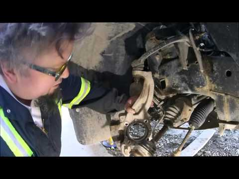 Rebuilding the F150 Front Suspension, Replacing Everything - YouTube