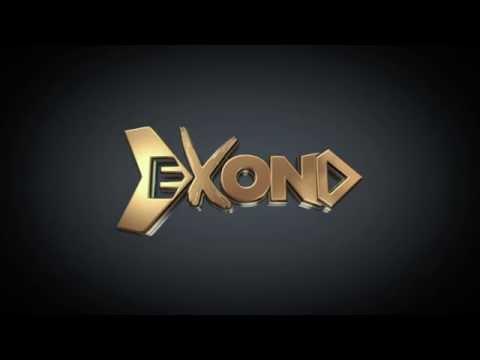 Exond.net -  intro 3D Gold Logo