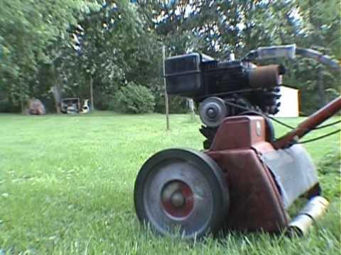1950 S Toro Power Handle Reel Mower Youtube