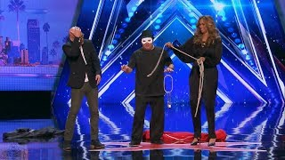 America's Got Talent 2017 The Man of Mystery Full Audition S12E01