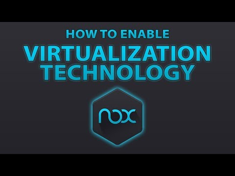 How To Enable VT ( Virtualization Technology ) For PC
