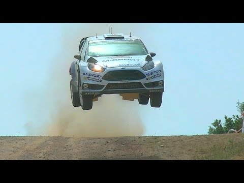 Rally Italy Sardegna 2015 WRC Italy | Jumps | Sideways | Dust