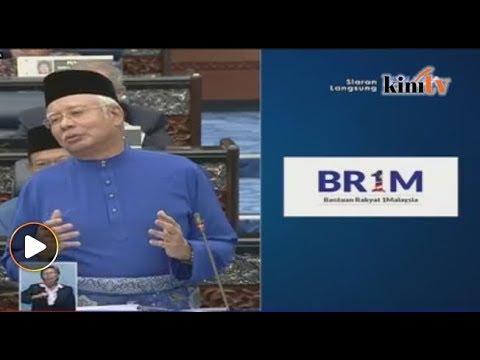 Kadar BR1M RM1,200 - Najib