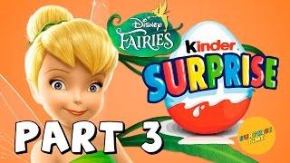Kinder Surprise Eggs Disney Fairies 36 Surprise Eggs